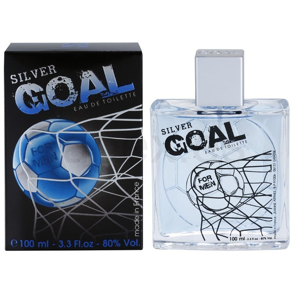 Silver Goal for Men by Jeanne Arthes EDT Spray 3.3 oz - Discount Fragrance at Cosmic-Perfume