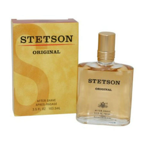 Stetson Original for Men by Coty After Shave Splash 3.5 oz  (New in Box) - Cosmic-Perfume