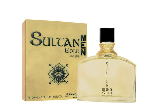 Sultan Gold for Men by Jeanne Arthes EDT Spray 3.3 oz - Discount Fragrance at Cosmic-Perfume