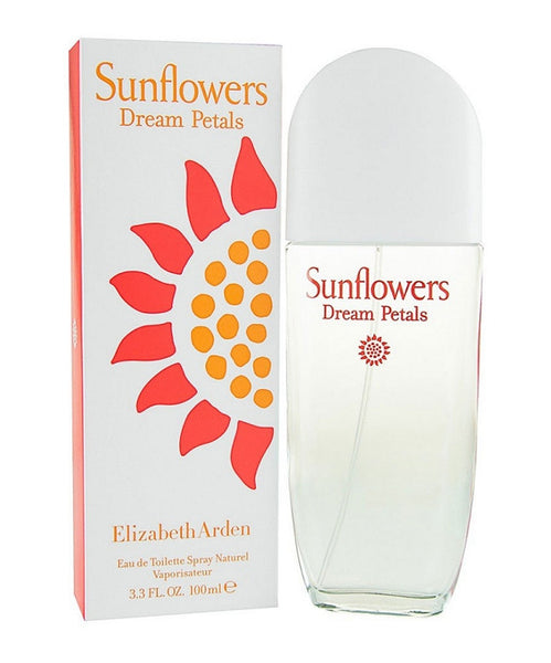 Sunflowers Dream Petals for Women by Elizabeth Arden EDT Spray 3.3 oz - Discount Fragrance at Cosmic-Perfume