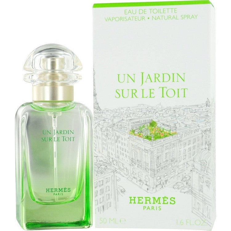 Un Jardin Sur Le Toit for Women & Men by Hermes EDT Spray 1.6 oz - Cosmic-Perfume
