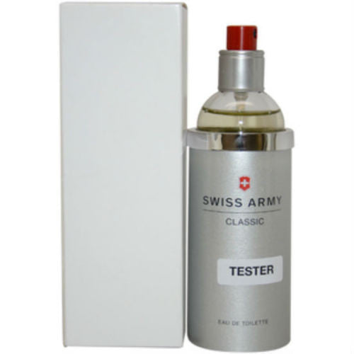 Swiss Army Classic for Men by Victorinox EDT Spray 3.4 oz (Tester) - Discount Fragrance at Cosmic-Perfume