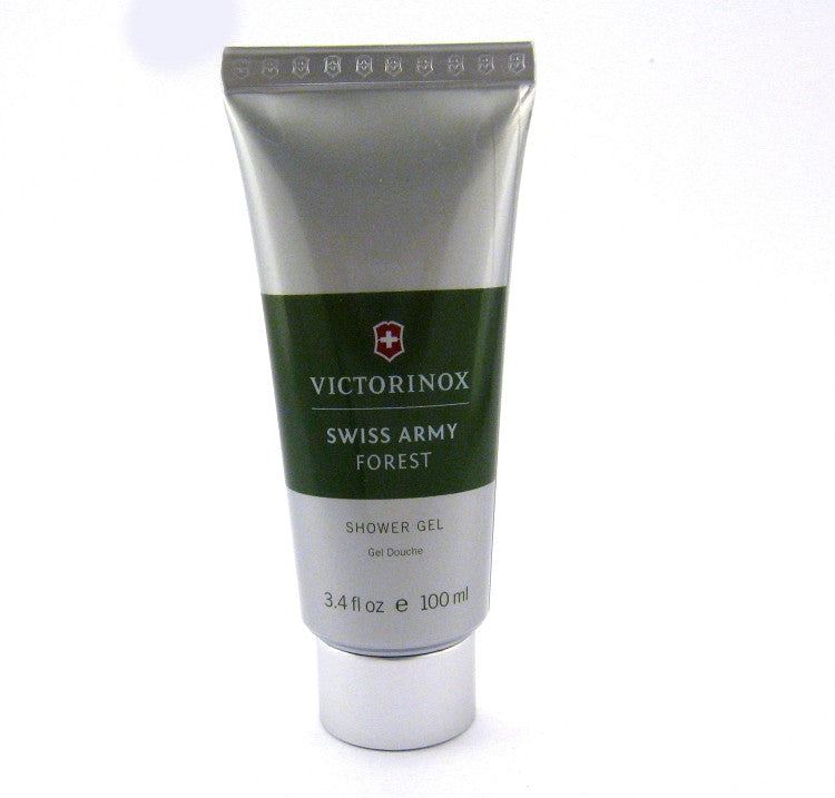 Swiss Army Forest for Men by Victorinox Shower Gel 3.4 oz (Unboxed) - Cosmic-Perfume