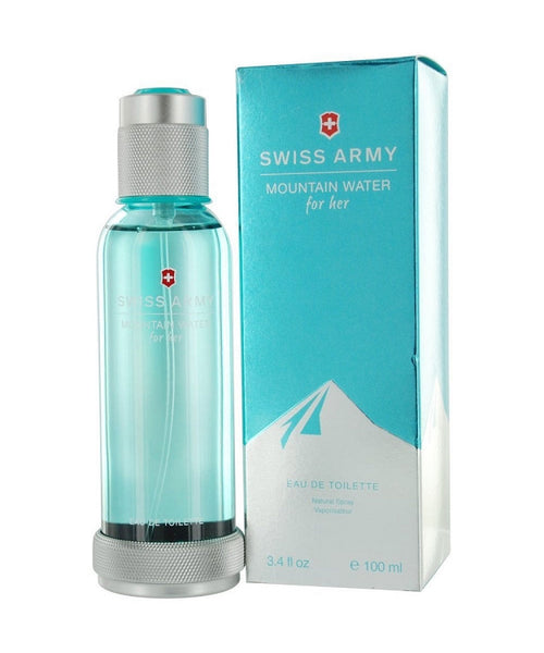 Swiss Army Mountain Water for Women by Victorinox EDT Spray 3.4 oz - Discount Fragrance at Cosmic-Perfume