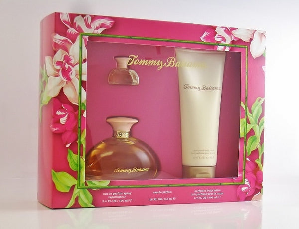 Tommy Bahama for Women by Tommy Bahama 3 pc Perfume Gift Set - Discount Fragrance at Cosmic-Perfume