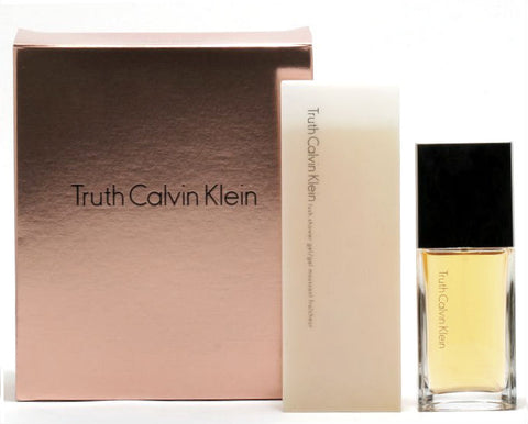 Truth for Women by Calvin Klein 2 pc Gift Set (EDP Spray 1.0 oz + 3.4 Shower Gel) - Cosmic-Perfume