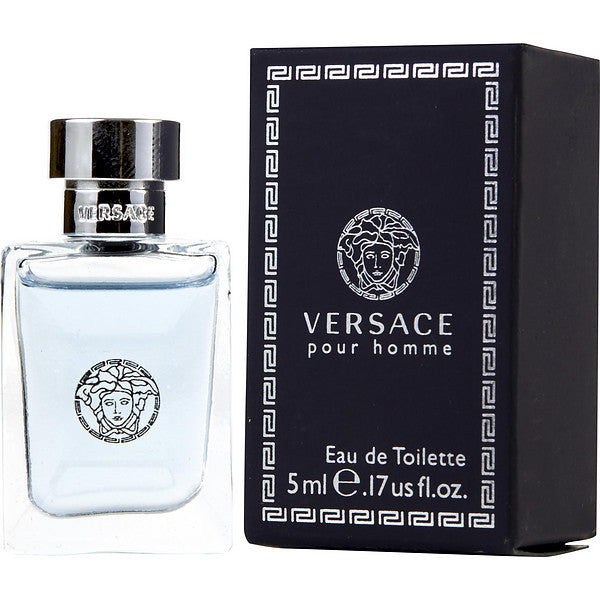 Versace Pour Homme for Men by Versace EDT Splash Miniature 0.17 oz - Cosmic-Perfume