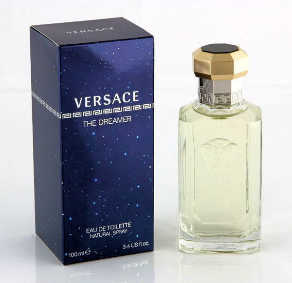 The Dreamer for Men by Versace EDT Spray 3.3 oz - Discount Fragrance at Cosmic-Perfume