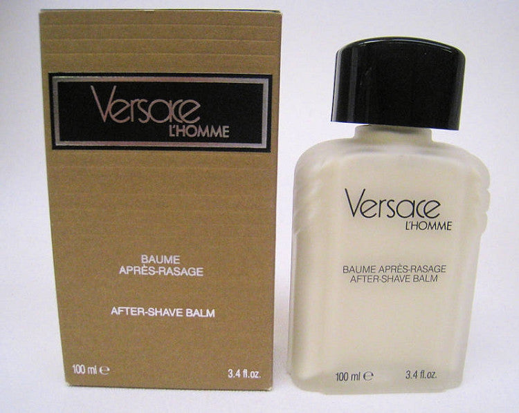 Versace L'Homme for Men by Versace After Shave Balm 3.4 oz - Cosmic-Perfume