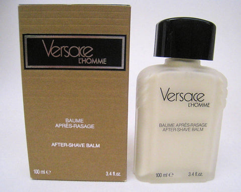 Versace L'Homme for Men by Versace After Shave Balm 3.4 oz - Discount Bath & Body at Cosmic-Perfume