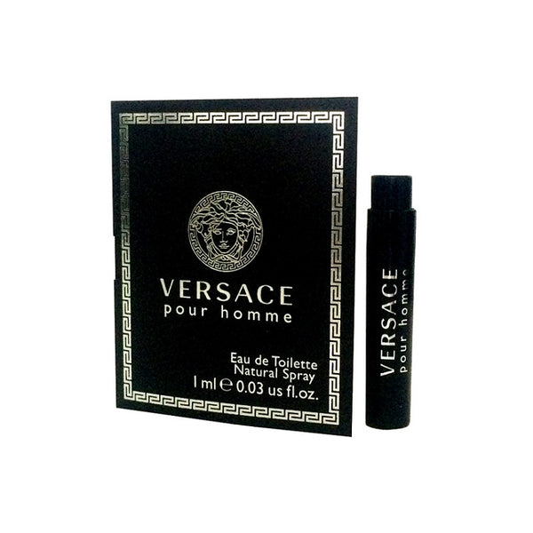 Versace Pour Homme for Men by Versace EDT Vial Sample Spray 0.03 oz - Discount Fragrance at Cosmic-Perfume