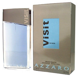 Azzaro Visit for Men by Loris Azzaro EDT Spray 3.4 oz - Discount Fragrance at Cosmic-Perfume