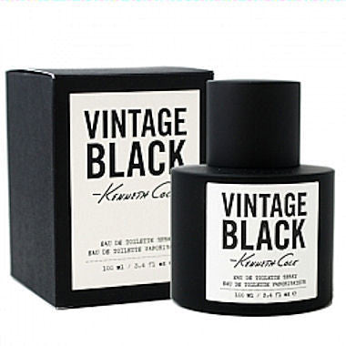 Kenneth Cole Vintage Black for Men by Kenneth Cole EDT Spray 3.3 oz - Discount Fragrance at Cosmic-Perfume