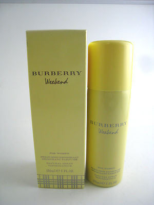 Burberry Weekend for Women by Burberry Deodorant Spray 5.0 oz (New in Box) - Cosmic-Perfume