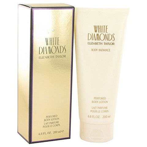 White Diamonds for Women by Elizabeth Taylor Perfumed Body Lotion 6.8 oz
