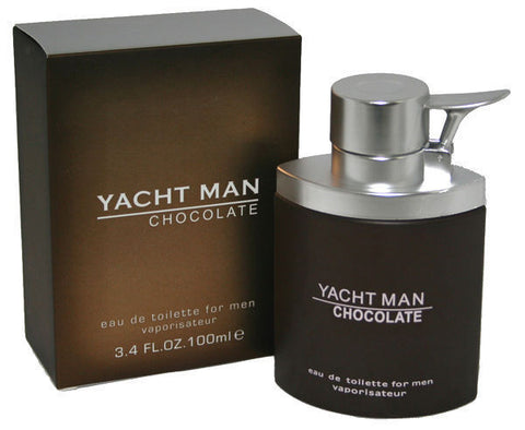 Yacht Man Chocolate for Men Edt Spray 3.4 oz - Discount Fragrance at Cosmic-Perfume
