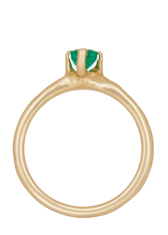 Guinevere Ring - Emerald