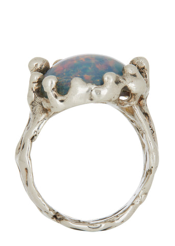 Magician Ring - Blue Opal
