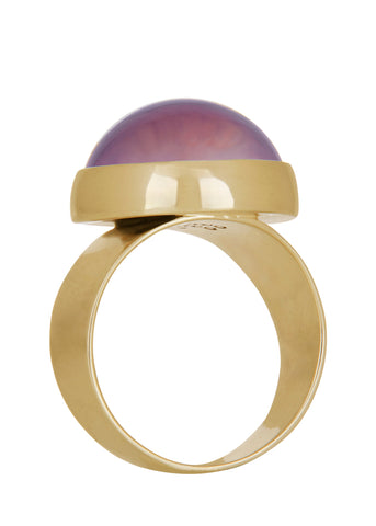 Mood Ring in Brass