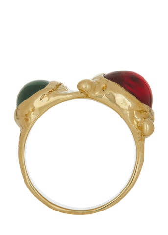 Pulp Ring - Red & Green