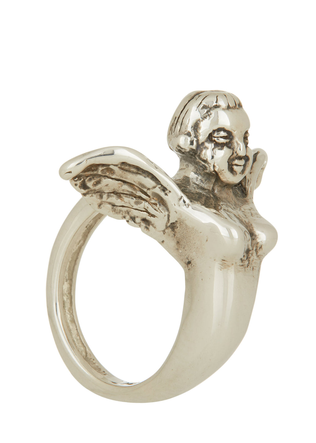 Angel Ring in Sterling Silver