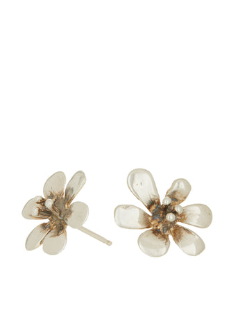 Clivia Studs in Sterling Silver