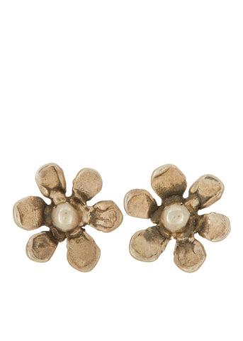 Daisy Studs in Sterling Silver