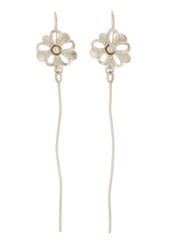 Windflower Earrings in Sterling Silver