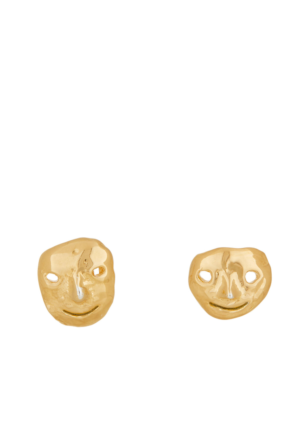 Street Life Studs in Gold
