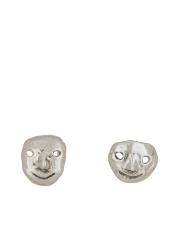 Street Life Studs in Sterling Silver