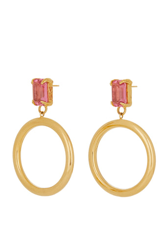 Bacall Hoops - Rose