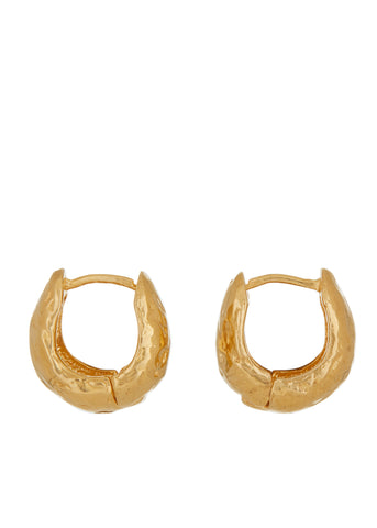 Cosmopolitan Hoops in Gold