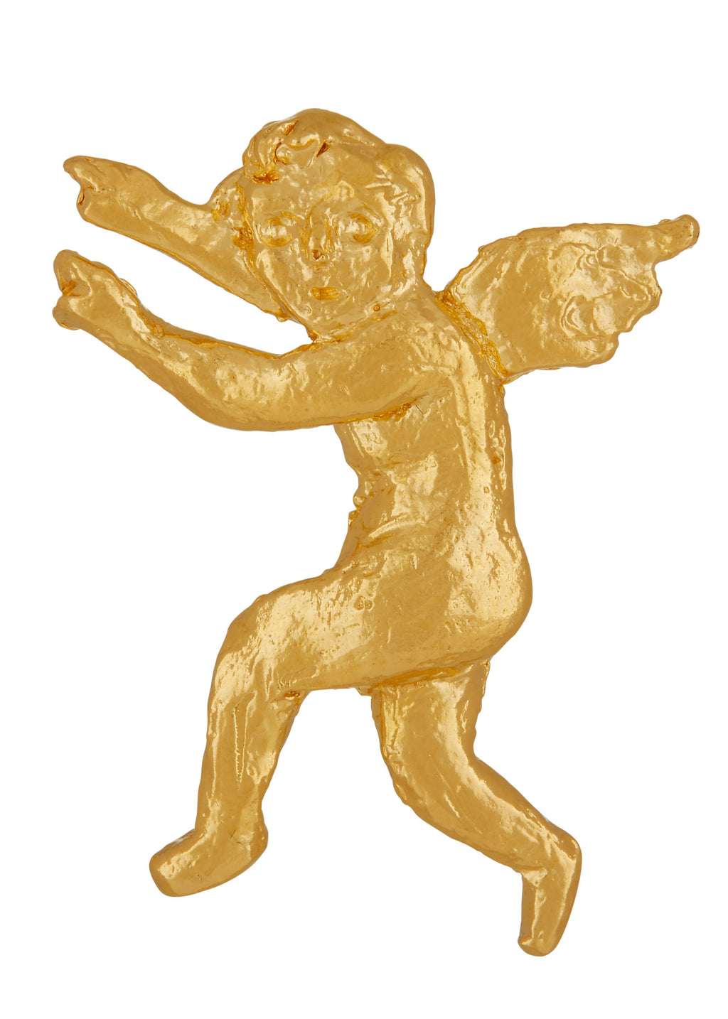 Psyche Brooch in Gold