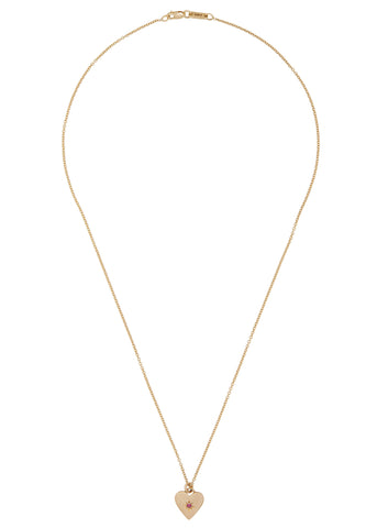 Sweetheart Necklace in 14K