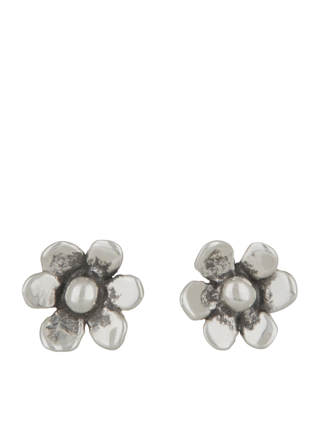 Mini Daisy Studs Sterling Silver