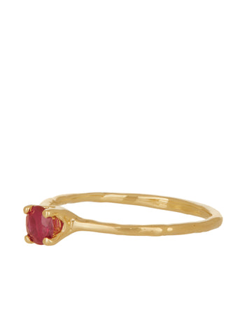Princess Ring - Ruby
