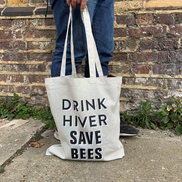 Drink Hiver Save Bees Tote Bag