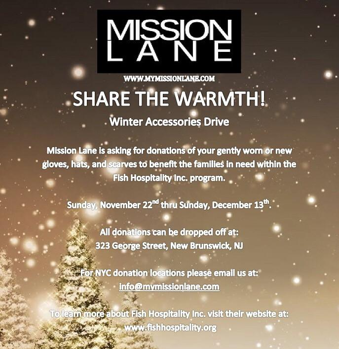 Mission Lane x Fish Hospitality Inc. Share the Warmth Drive! | Mission Lane
