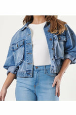 Janie Crop Denim Jacket - Mission LaneJackets