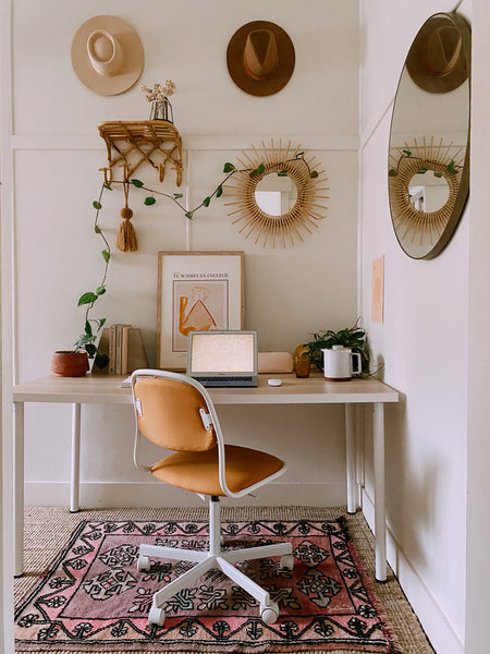 DIY HOME OFFICE NOOK