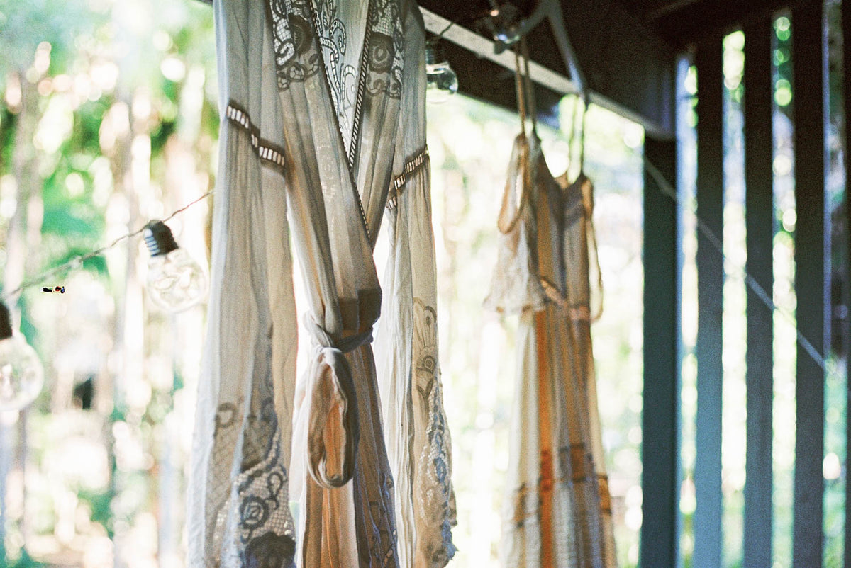 DIY: Vegetable Dying ~ Bridal Gowns