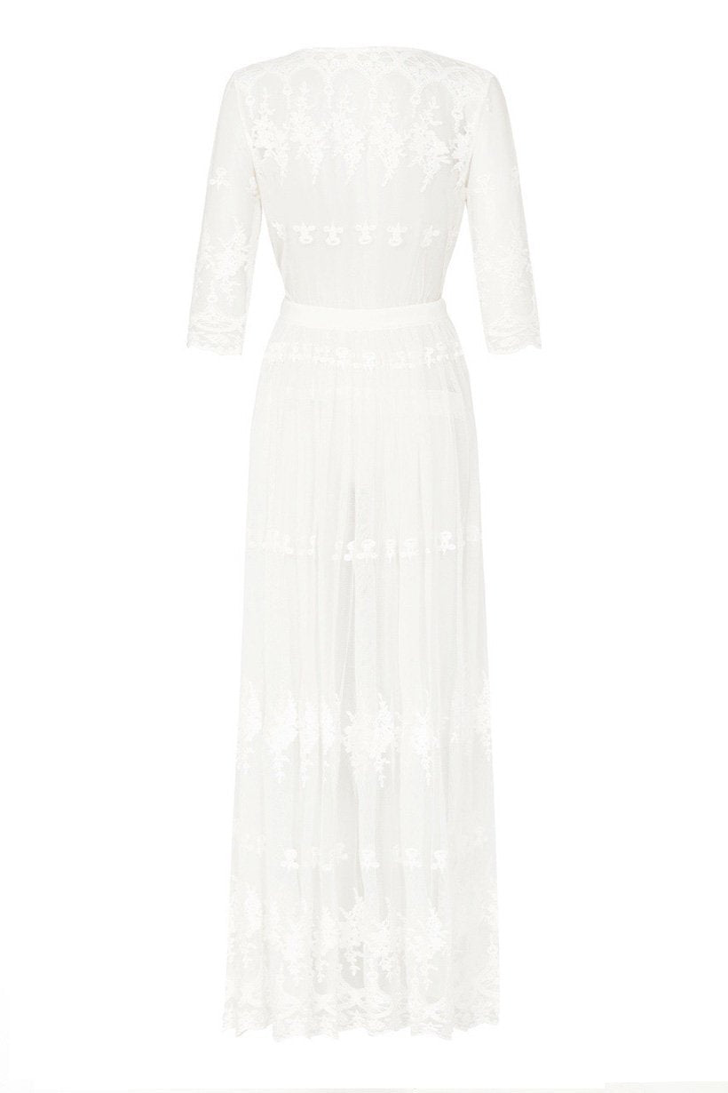 Spell Bride Canyon Moon Mesh Duster