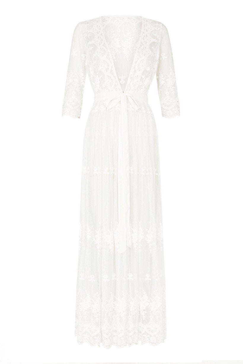 Spell Bride Canyon Moon Mesh Duster #rollover