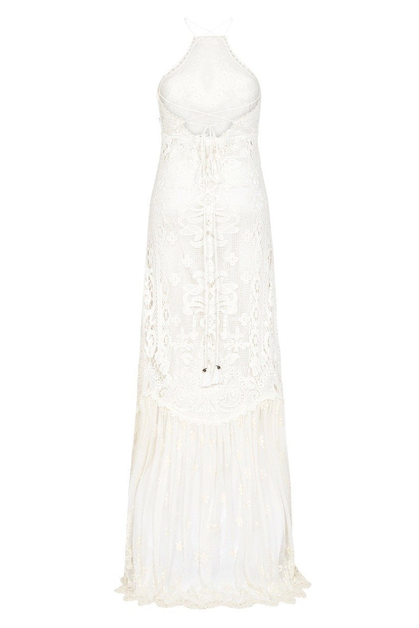 Spell Designs Bridal Casablanca Lace Halter Gown