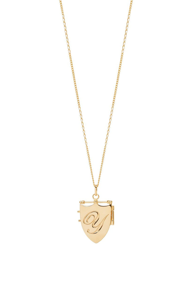 Wild Love Locket Necklace - Y