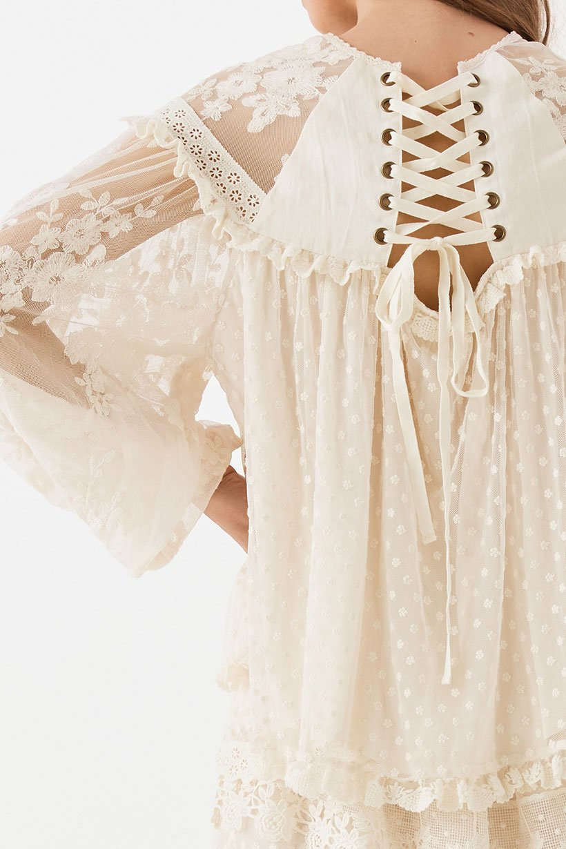 Spell Dawn Lace Blouse