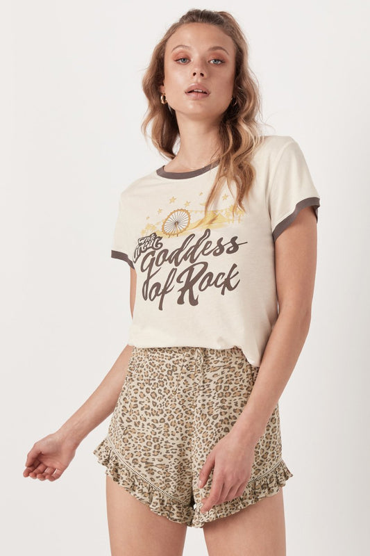 Goddess of Rock Organic Tee