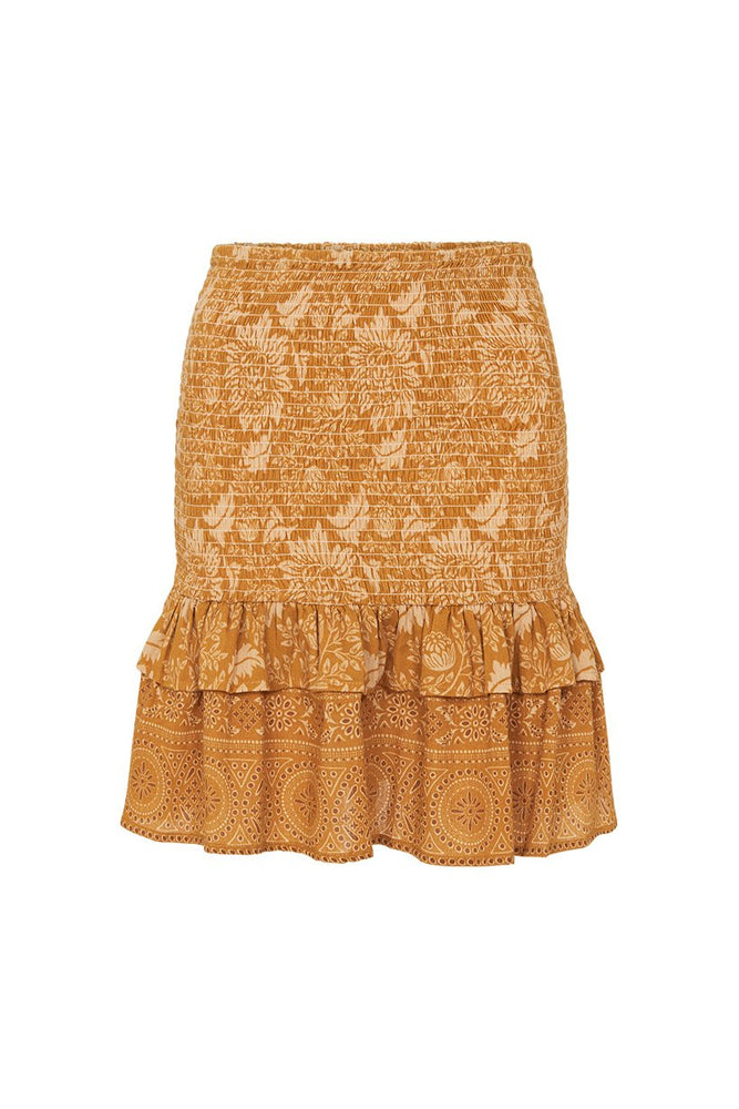 Lioness Ruched Mini Skirt