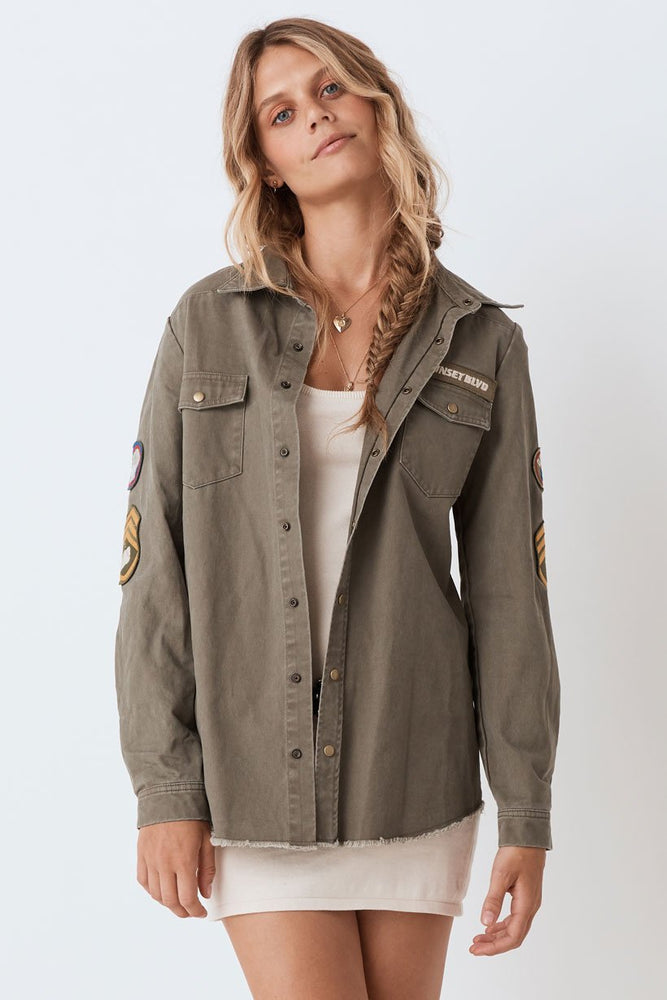 Mermaid Twill Jacket