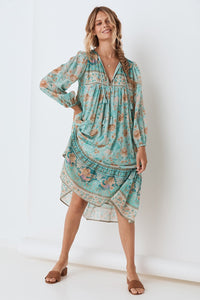 Seashell Boho Dress